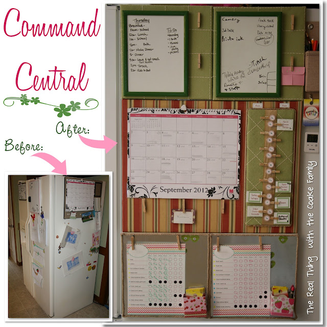 how to create command center