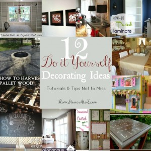 do it yourself decorating