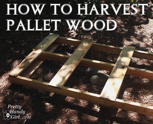 how to pallet wood