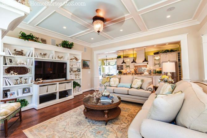 lovely living rooms beadboard | Home Tour: Stephen Alexander Fall 2012 Homearama - Home ...